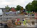 SK5438 : Construction at Science Road by Alan Murray-Rust