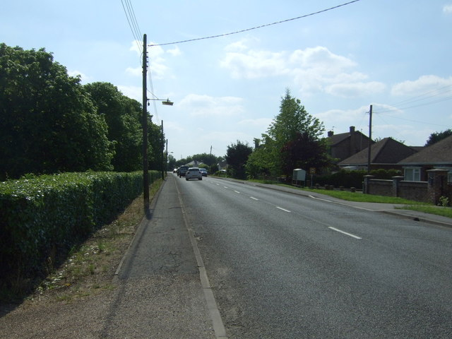 High Road, heading west