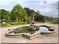 SJ7481 : Neptune (Triton) in the Italian Garden at Tatton by David Dixon