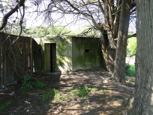 Pillbox at Bungay & Waveney Valley Golf Club