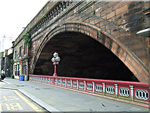 NS4864 : White Cart railway arch by Thomas Nugent
