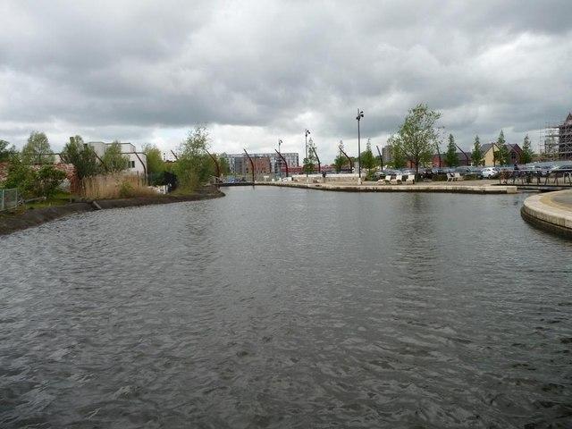 New basin off the Ashton Canal, Ancoats