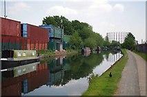 TQ2282 : Grand Union Canal Near Old Oak Common Rail Depot by Glyn Baker