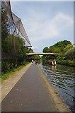 TQ2783 : Canalside Aviary by Glyn Baker