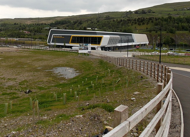 Down to Ebbw Vale Sports Centre