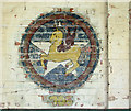 TM3185 : RAF Bungay (USAAF Station 125) - Aero Club mural (9) by Evelyn Simak