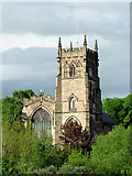 SO8276 : The Church of St Mary and All Saints in Kidderminster, Worcestershire by Roger  Kidd