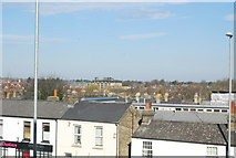 TL4658 : Roofscape, Newmarket Rd by N Chadwick