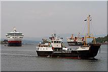 NM8529 : Raasay in Oban Bay by The Carlisle Kid