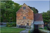 SZ1592 : Buildings of Christchurch (a selection): Place Mill, Town Quay (2) by Mike Searle