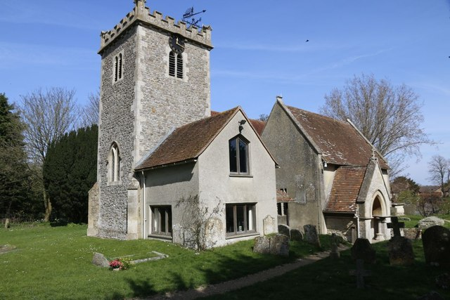 The South side of All Saints