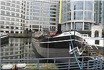TQ3780 : Prins, West India Docks by N Chadwick