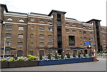 TQ3780 : Converted warehouses, West India Docks by N Chadwick