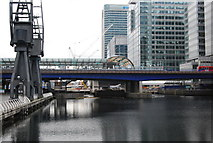 TQ3780 : West India Quay DLR Station by N Chadwick