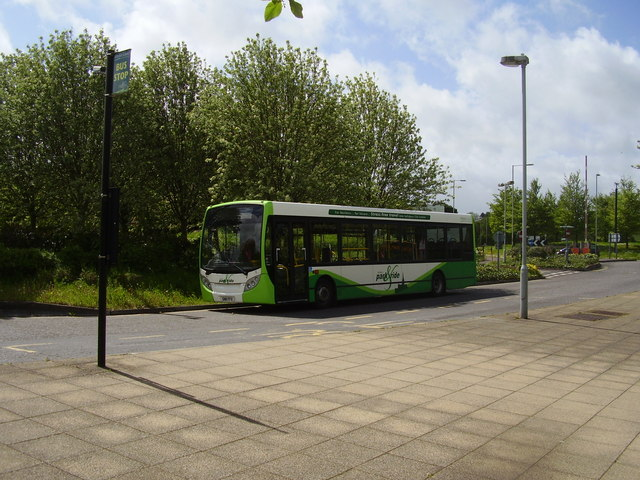 Standing by at Old Sarum, Park and Ride