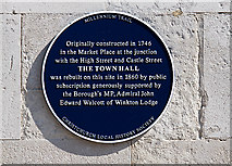 SZ1592 : The Blue Plaques of Christchurch: No. 4 by Mike Searle