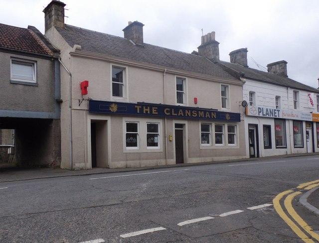 'The Clansman' pub