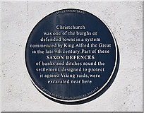 SZ1592 : The Blue Plaques of Christchurch: No. 19 by Mike Searle