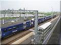 NS9067 : ScotRail train at Blackridge by M J Richardson