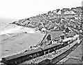 SW5240 : St Ives station, panorama 1960 by Ben Brooksbank