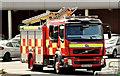 J4274 : Fire appliance, Dundonald (May 2014) by Albert Bridge