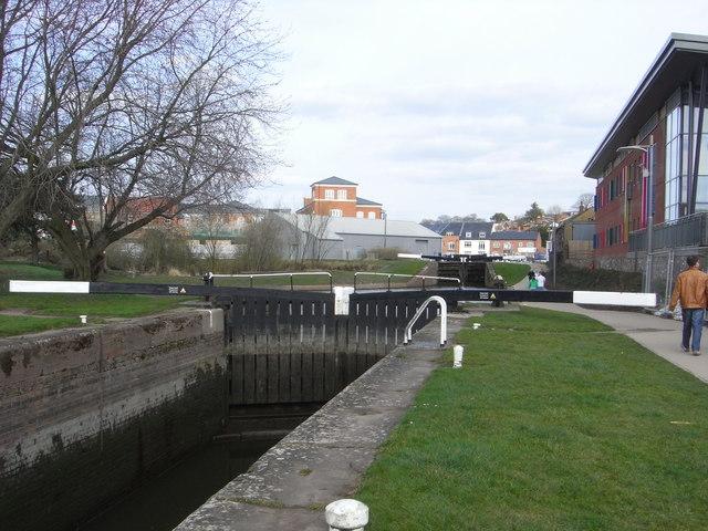 Worcester & Birmingham Canal - Diglis locks