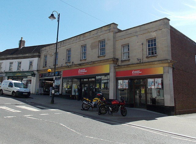 Poundstretcher in a former Woolworths, Warminster