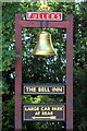 TQ3245 : The Bell Inn sign by Oast House Archive