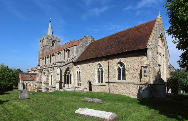 St Mary, Stebbing
