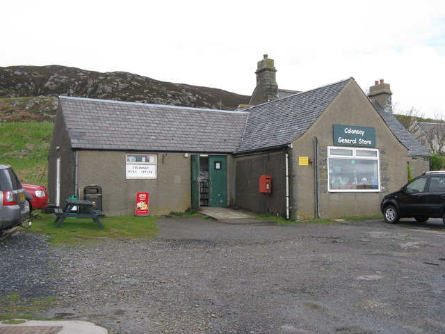 Colonsay Post Office and General Store