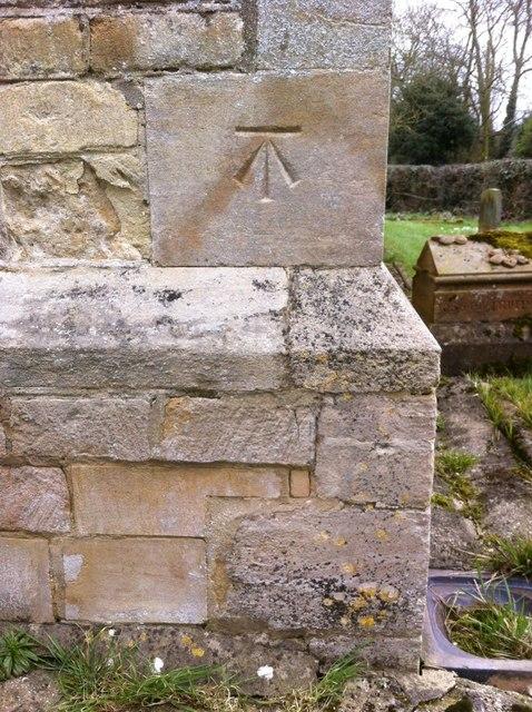 Cut Mark: Faldingworth, All Saints' Church