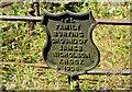 J4173 : Nicholson grave marker, St Elizabeth's graveyard, Dundonald by Albert Bridge