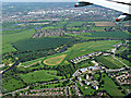 SU9477 : Royal Windsor Race Course from the air by Thomas Nugent