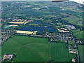 SU9077 : Bray Lake from the air by Thomas Nugent