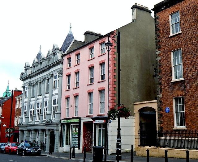 Derry - Medieval Walled City - Bishop Street Dwellings