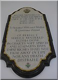 SU4774 : St Mary, Chieveley: memorial (j) by Basher Eyre