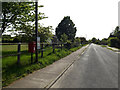 TM4888 : Mill Road & Mill Road George VI Postbox by Adrian Cable