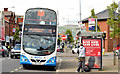 J3674 : Holywood Arches bus stop (EWAY), Belfast - May 2014(2) by Albert Bridge