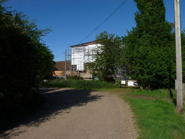 Upper Abbey Farm rises again (slowly)