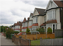 TQ3772 : Houses in Bromley Road, London SE6 by David Kemp