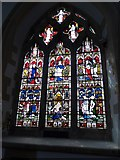 SP7006 : St Mary, Thame: stained glass window (K) by Basher Eyre