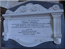 SP7006 : St Mary, Thame: memorial (19) by Basher Eyre