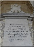 SP7006 : St Mary, Thame: memorial (30) by Basher Eyre