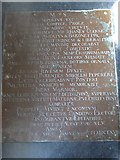 SP7006 : St Mary, Thame: memorial (42) by Basher Eyre