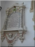 SP7006 : St Mary, Thame: memorial (53) by Basher Eyre