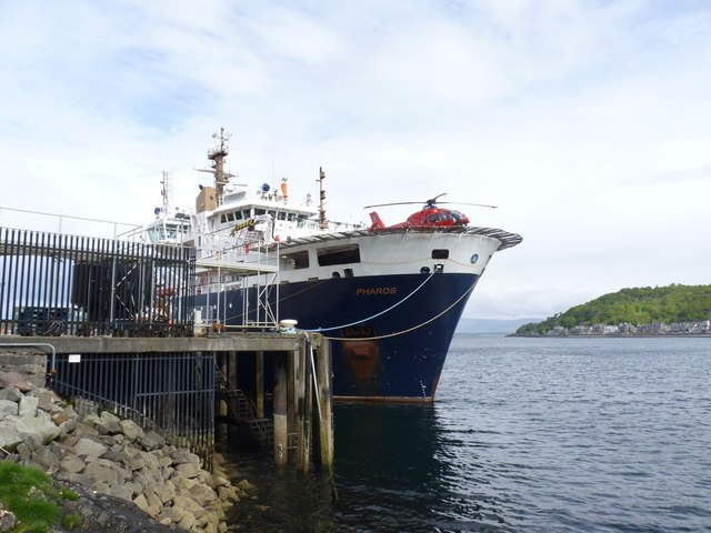 NLV Pharos at Oban Depot