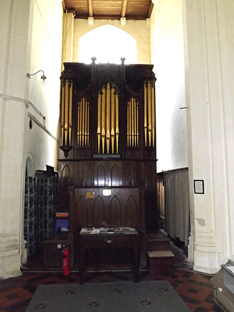 Organ of St.Peter & St.Paul Church, Hoxne