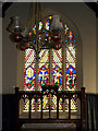 TM1877 : Stained Glass Window of St.Peter & St.Paul Church, Hoxne by Adrian Cable