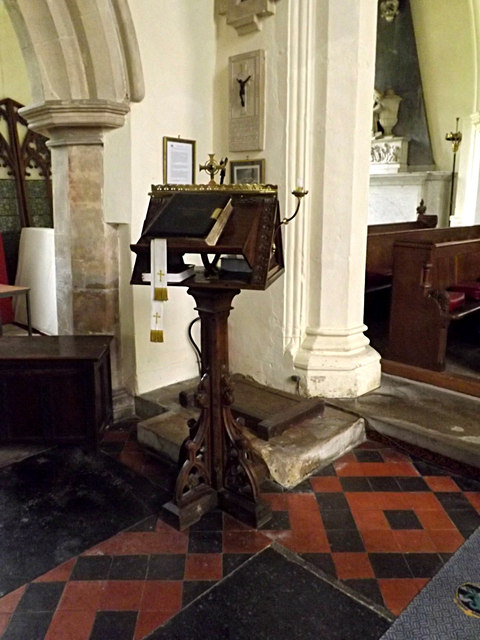 Lectern of St.Peter & St.Paul Church, Hoxne