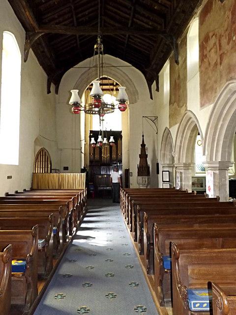 Inside of St.Peter & St.Paul Church, Hoxne